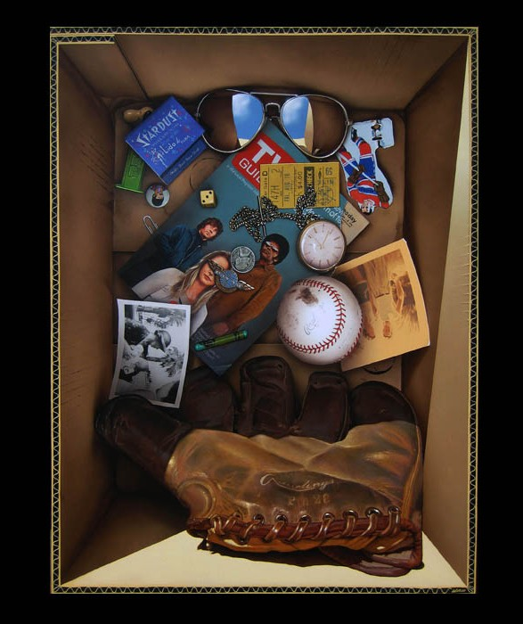"Box of Memories 3 (2013) 60"" X 45"""